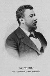 O Ortovi se ví, že byl bohatý. V roce 1887 vyhraje hlavní výhru ve vídeňské komunální loterii, celých 169 642 zlatých (po reformě v roce 1892 šlo o 340 000 rakouských korun).