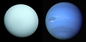 Ledoví obři Uran a Neptun