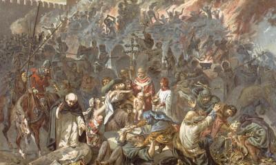 Lidé si nedokázali příčinu moru vysvětlit, a proto hledali viníka. V mnoha případech ukázali na Židy.