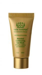 Liftingová oční maska Tata Harper s okamžitým revitalizačním účinkem a komfortní texturou tajícího olejového balzámu.