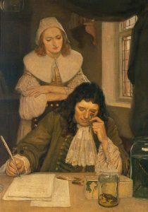 Mikroskop sestrojený Leeuwenhoekem dokáže zvětšit objekt až 200krát.