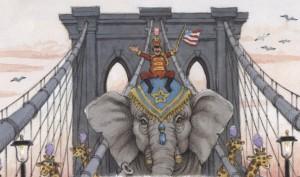 Názor veřejnosti pomohou změnit i sloni cirkusového krále P. T. Barnuma.