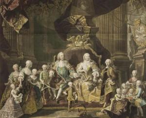 Na výchovu svých dětí rakouská panovnice osobně dohlíží.