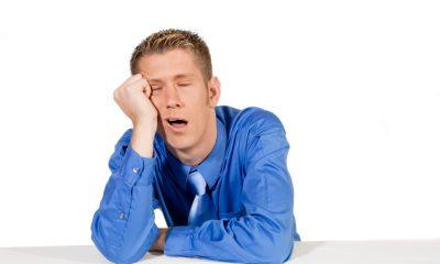 Nadměrné vyčerpání může být příznakem únavového syndromu.