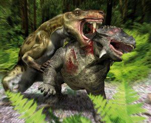 Gorgonopsidé byly vrcholovými predátory svrchního permu. Největší jedinci mohli měřit kolem 3,5 metru a vážit až půl tuny.