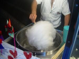 Při výrobě umělých kapilár použili vědci stroj na cukrovou vatu.