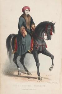 Lady Hester Lucy Stanhopeová se na cesty vypravila v roce 1810.