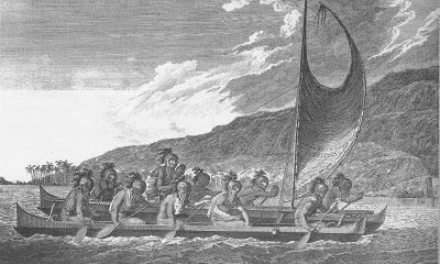 Na podobných kánoích dorazil první osadníci na odlehlé tichomořské ostrovy