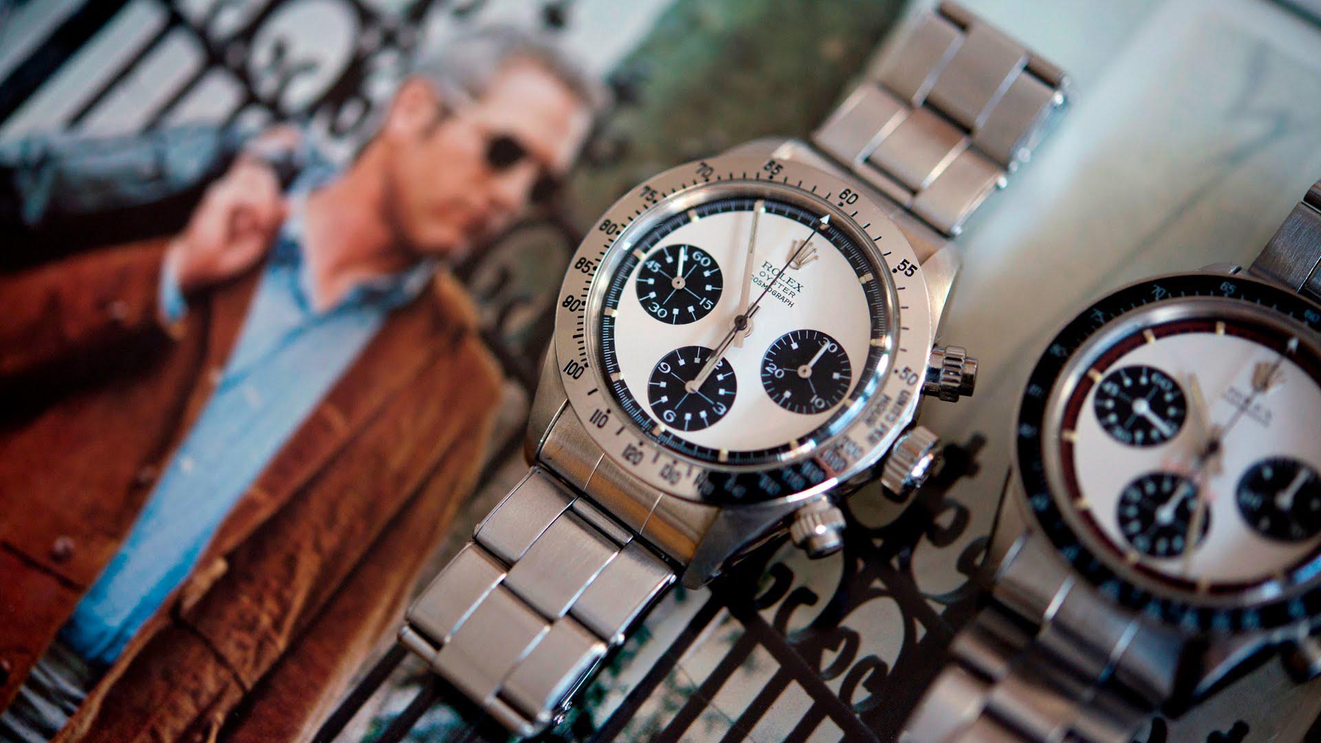 Ocelový chronograf Daytona proslavil herec Paul Newman.