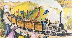 Při výletě vlakem dostal Cook nápad, jak organizovat cestování ve velkém.