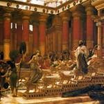 Palác židovského panovníka disponoval řadou technických vymožeností, např. pozoruhodným pohyblivým trůnem