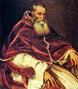 Papež Pavel III. nechá v útrobách bývalého mauzolea vybudovat přepychovou rezidenci.