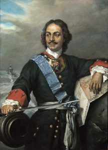 Po vzácném díle marně touží i car Petr Veliký.