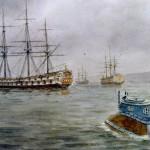 Ponorka se sice k lodi HMS Eagle nepozorovaně přiblíží, její obsluha však nepřátelské plavidlo nezničí.