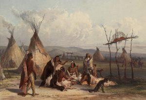 Populace původních obyvatel Ameriky v průběhu 16. století výrazně klesne.