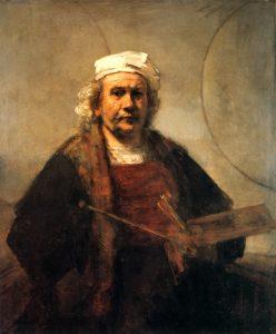 Rembrandt se biblickými výjevy inspiroval poměrně často.