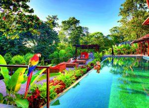 Resort Nayara Springs nabízí skvělou alternativu k městské šedi.