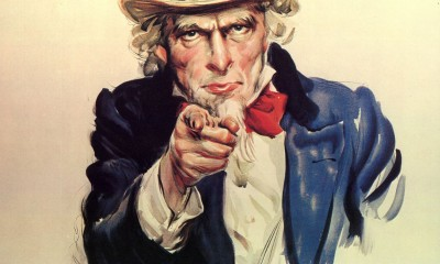Strýček Sam je pro Američany symbolem národní hrdosti