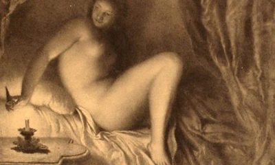 Svou Fanynku zvěčnil Mánes například na slavném obraze s názvem Večer.