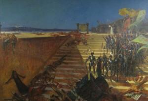 Tenochtitlán je konečně dobyt.