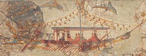 Akrotiri, v překladu Výspa, je unikátní nalezištěm právě proto, že bylo 3 500 let pod metrovými vrstvami půdy.