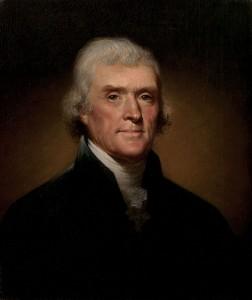 Thomas Jefferson svým darem zaskočí zákonodárce.
