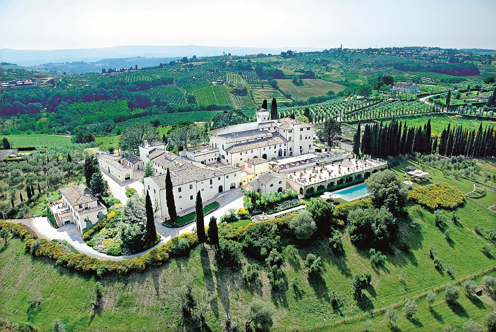 Toskánské Castello del Nero vás okouzlí aurou florentských šlechtických rodin.