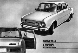 Kdo chtěl v roce 1975 novou Škodu 110LS, mohl být v pořadníku Mototechny (55 800 Kčs), nebo mohl jít do Tuzexu (asi 14 000 bonů).
