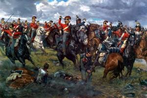U Waterloo vyhrál Napoleon, předstírá mazaný finančník.