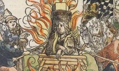 Upálení Jana Husa vyvolá v českém království bouřlivé nepokoje