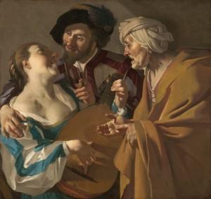 Víno, ženy a zpěv. Zálibu v nevěstkách zcela nevymýtí ani hrozba vážné nemoci.