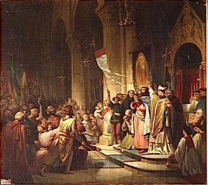 V čele křížové výpravy stane Bonifác z Montferratu.