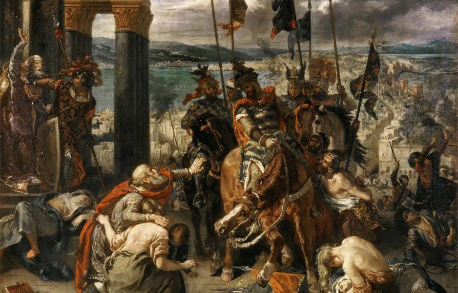 V Konstantinopoli se křesťanští rytíři chovají jako barbaři.