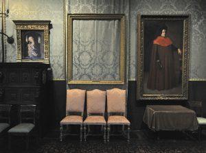 V bostonském muzeu zůstal po ukradeném obrazu jenom rám.