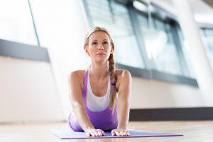 V jednom z nejluxusnějších center v Praze můžete vyzkoušet například flow jógu.