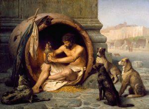 Ve starém Řecku si psů vesměs váží. A to i kvůli jejich údajným léčitelským schopnostem.