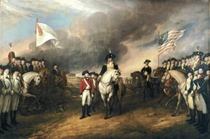 Yorktown už déle neudrží. Britům nezbývá než se vzdát.