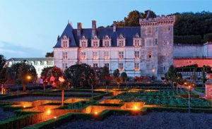 Zámek Chateau de Villandry v centrální Francii fascinuje všechny milovníky vůní.
