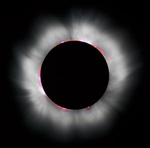 Zatmění Slunce je astronomický jev, při kterém Měsíc vstoupí mezi Zemi a Slunce a tím ho zakryje