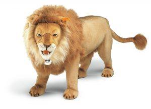 Zvířecí společníci německé značky Steiff patří ke sběratelské kolekci zvířat vyvedených v životní velikosti.