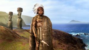 Podle archeologických nálezů si domorodci na Velikonočním ostrově vyráběli kopí s hroty z obsidiánu, sopečného skla.