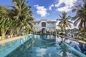 Sídlo v Miami, ve kterém Capone dožil po svém propuštění z Alcatrazu.