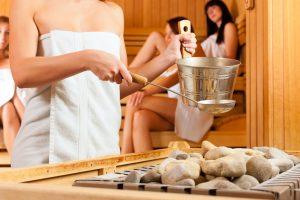 Sauna pomůže na: Zatuhlé svalstvo