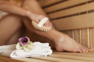 Relativně šetrnější variantou sauny je parní lázeň.